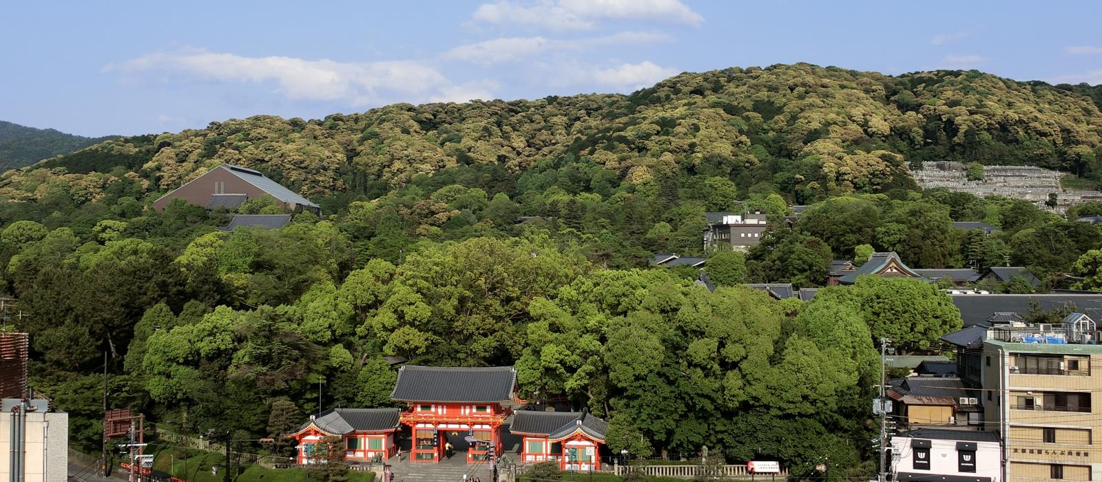 京都三山の歴史現在
