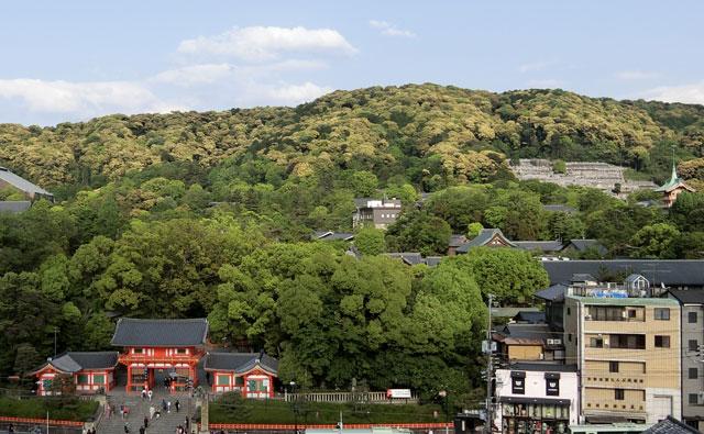 京都三山の歴史